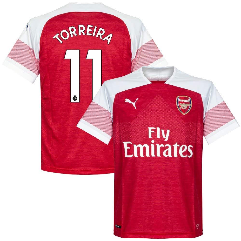 quality design 91965 d824d Arsenal Home Torreira 11 Shirt 2018 2019 (Offizielle Premier ...