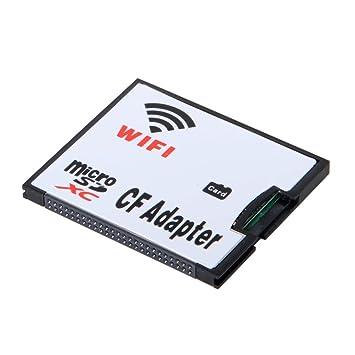 SODIAL Tarjeta de Memoria del Adaptador WiFi TF Micro-SD a ...