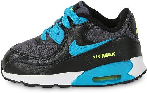 Nike Air Max 90 Mesh (TD), Baskets Basses Mixte bébé, Noir