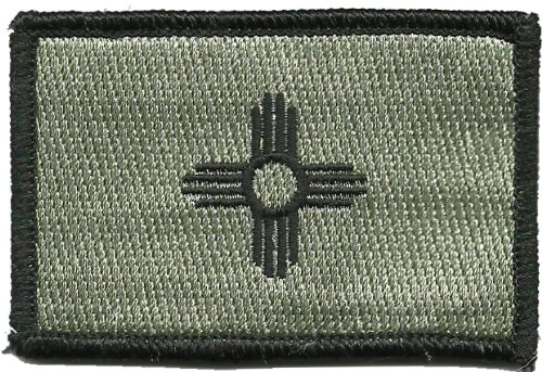 Flag Patch (ACU-Foliage (Black & Silver)) ()
