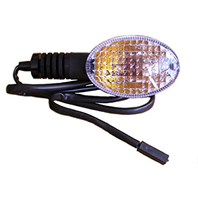 2008-2012 Kawasaki Ninja 250 EX250 Left Front Turn Signal 23037-0115 Genuine OEM Indicator Blinker Light: Automotive