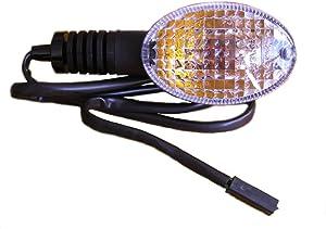 2008-2012 Kawasaki Ninja 250 EX250 Left Front Turn Signal 23037-0115 Genuine OEM Indicator Blinker Light