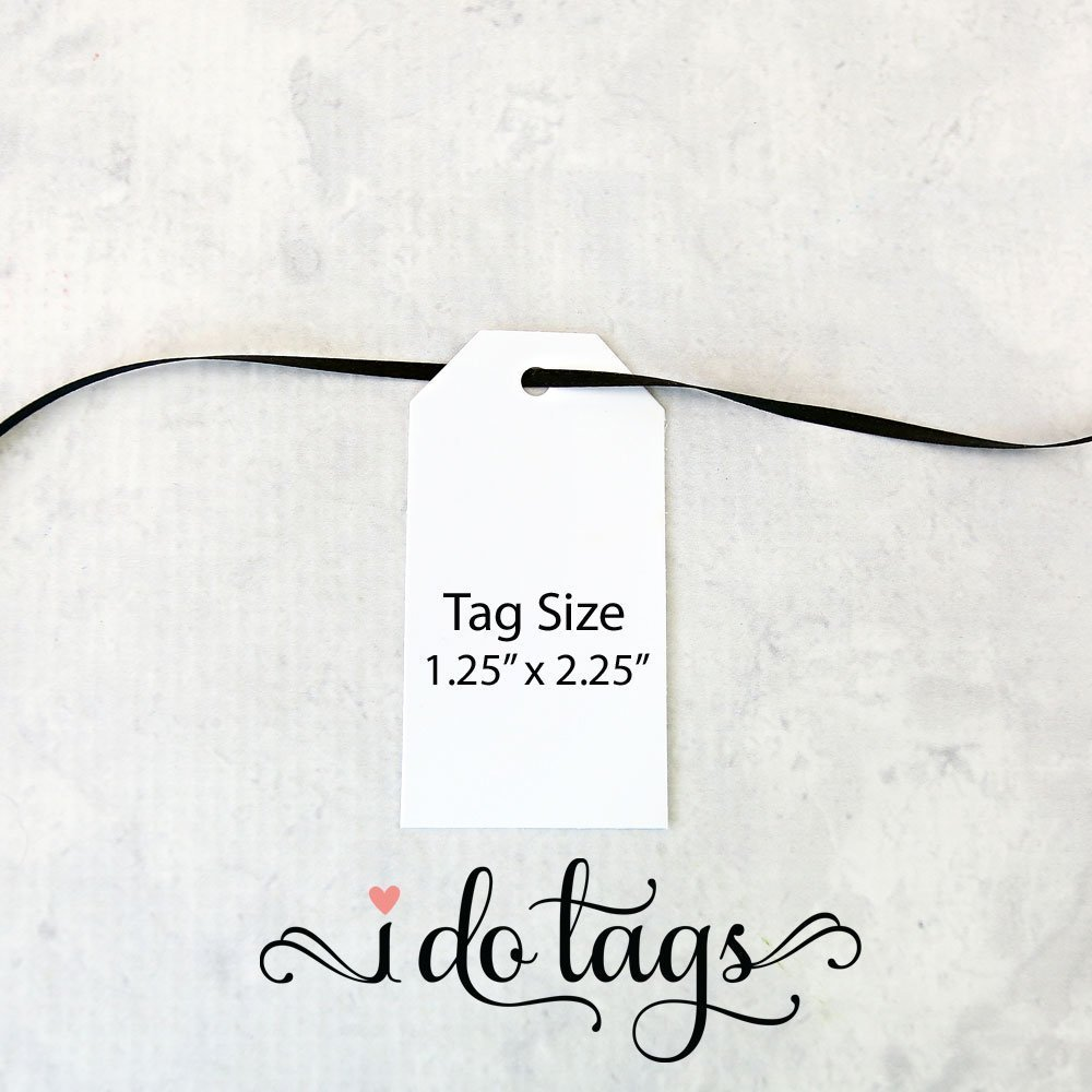 Take a Shot We Tied the Knot, Wedding Favor Tag, Personalized, Custom Gift Tags – size 1.25