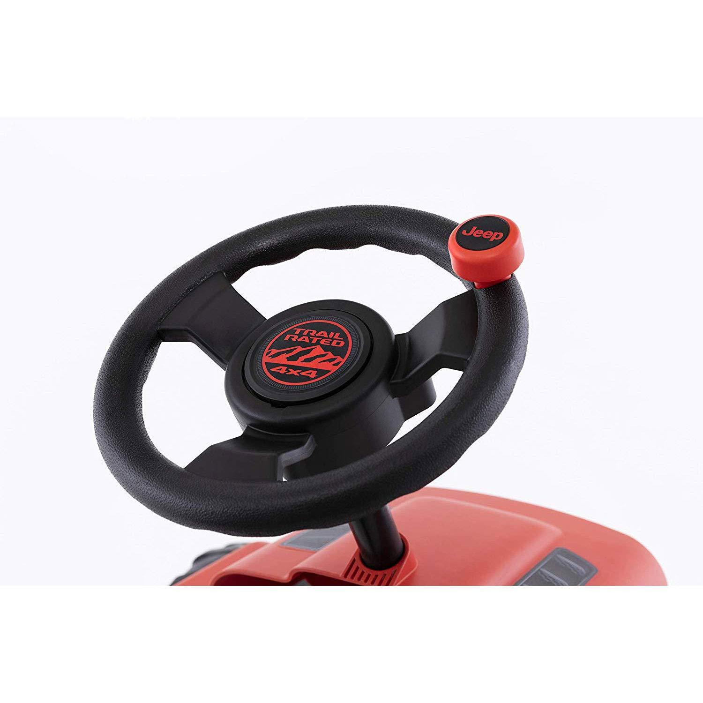 Berg Jeep Buzzy Rubicon Pedal Go Kart Red//Black