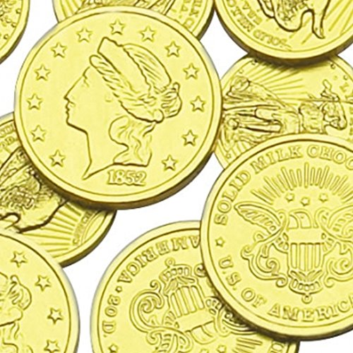 gold coins chocolate - 6