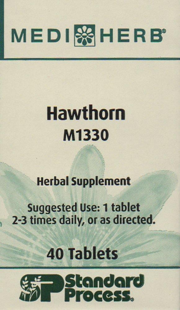 MediHerb - Hawthorn - 40 Tabs