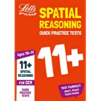 11+ Spatial Reasoning Quick Practice Tests Age 10-11 for the CEM tests