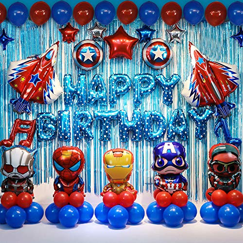 Top superhero birthday decorations for boys