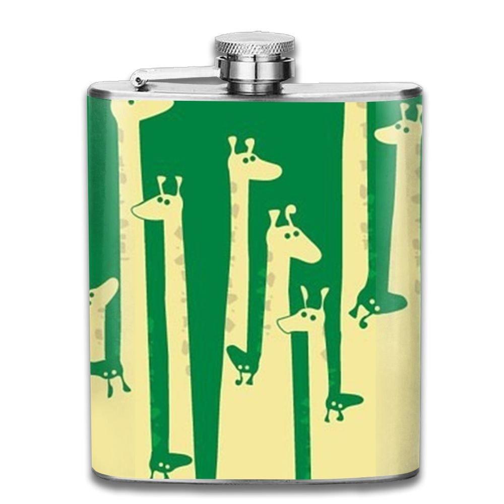 ファッションなデザイン jf-x GiraffeグループPersonalised酒WiskeyステンレススチールヒップフラスコワインポットFlagon jf-x (7oz) (7oz) B07CV7JG1Z B07CV7JG1Z, シーズニーズ:1018973b --- vezam.lt