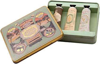 Estuche regalo Caja Les intemporels con 3 cremas manos de 30 ML: Amazon.es: Belleza
