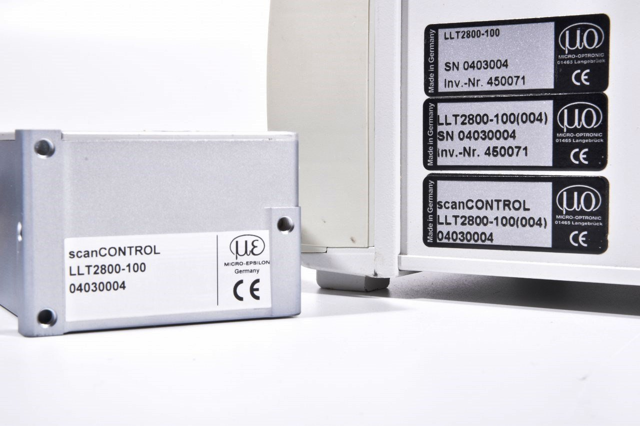 Laser Entfernungsmesser Mit Analogausgang : Micro epsilon llt2800 100 llt2800100 scancontrol