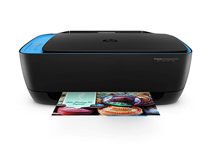 HP DeskJet 4729 All in One Ultra Ink Advantage Wireless Colour Printer with Voice Activated Printing  Works with Alexa   Google Assistant  Inkjet Prin