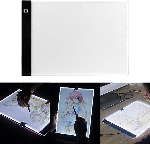 Tablero de dibujo LED Tablero de la plantilla de arte Tablero de ...