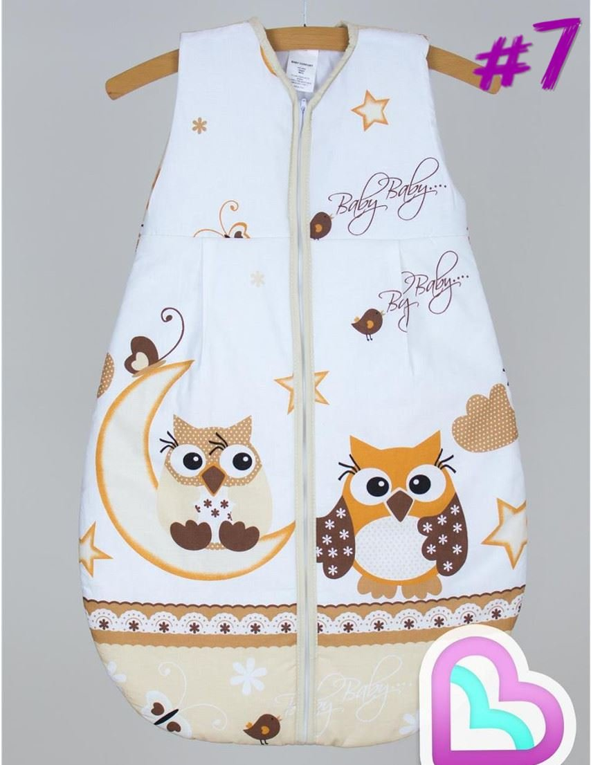 Baby Sleeping Bag 6-18 Months/86 cm Cotton Travel Bag - Pattern 7 Baby Comfort