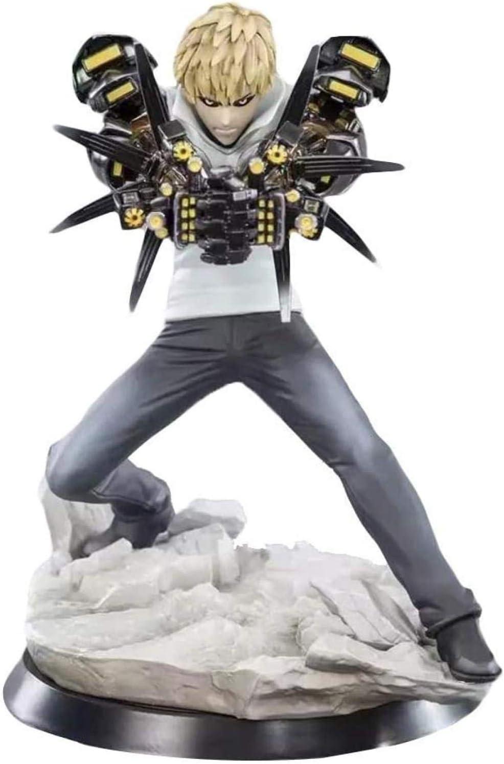 No MA SOSER Templom Seis Anime One Punch Man Genos 1/10 Modelo a Escala Figura de PVC Figura de Juguete Colecciones de Anime japonés