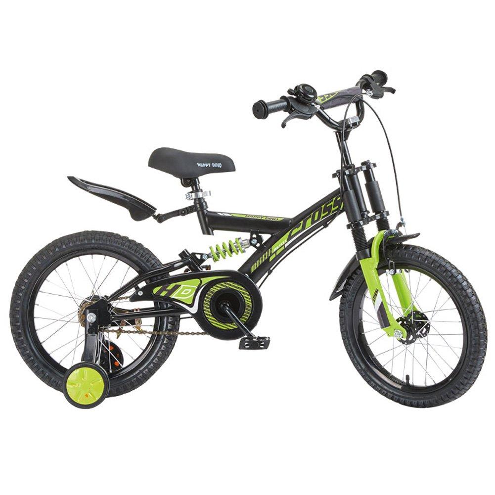 2019年新作入荷 CHS@ CHS@ 子供用自転車3歳から8歳のベビーキャリッジ14/16インチの生徒マウンテンバイクダブルショック吸収ユニセックス子供用トレーニングホイール (色 子ども用自転車 (色 : サイズ #3, サイズ さいず : 16