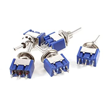 brunswick 6a 125vac 3 pin spdt on off on 3 position mini toggle rh amazon de SPDT Toggle Switch On Mon Long Toggle Switch SPDT