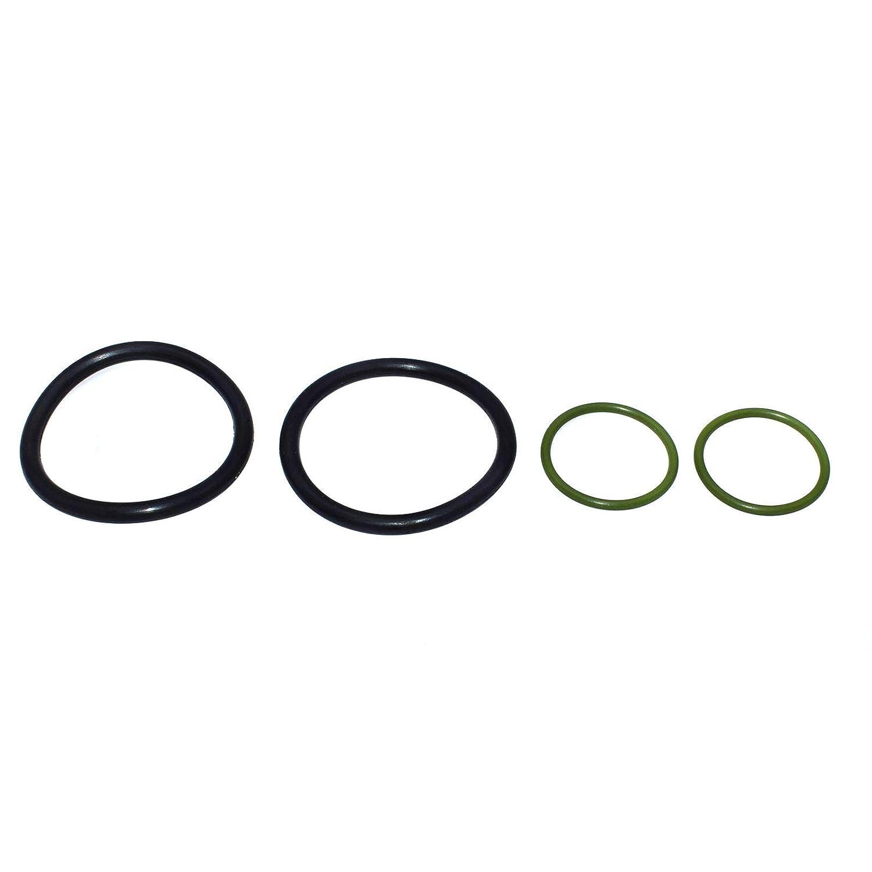 4PCS Solenoid Valve O Ring Seals For BMW N40 N42 N46 N45 11367506178,11367546379