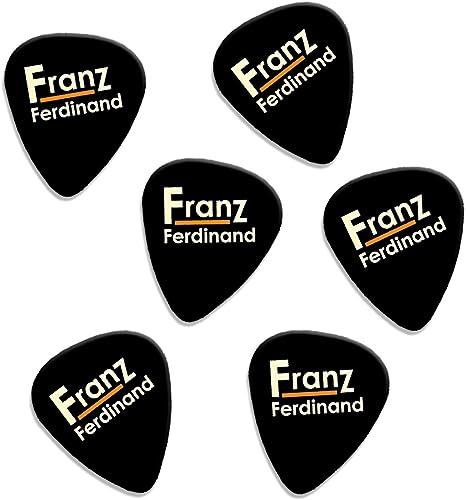 Franz Ferdinand Set Of 6 Loose Guitarra Púas (F1): Amazon.es ...