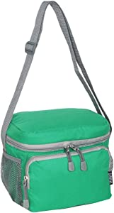 Everest Cooler Lunch Bag, Emerald Green, One Size