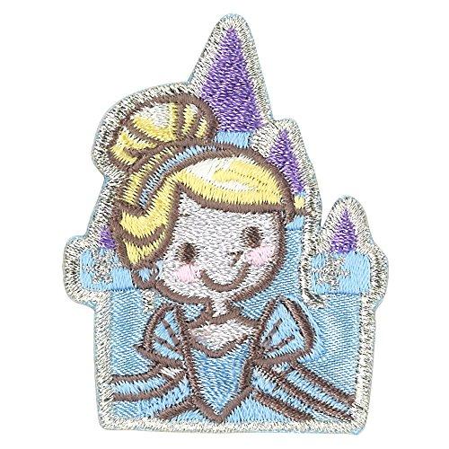 ミノダ ディズニープリンセス コミックワッペン シンデレラ キャッスル D01Y9175の商品画像