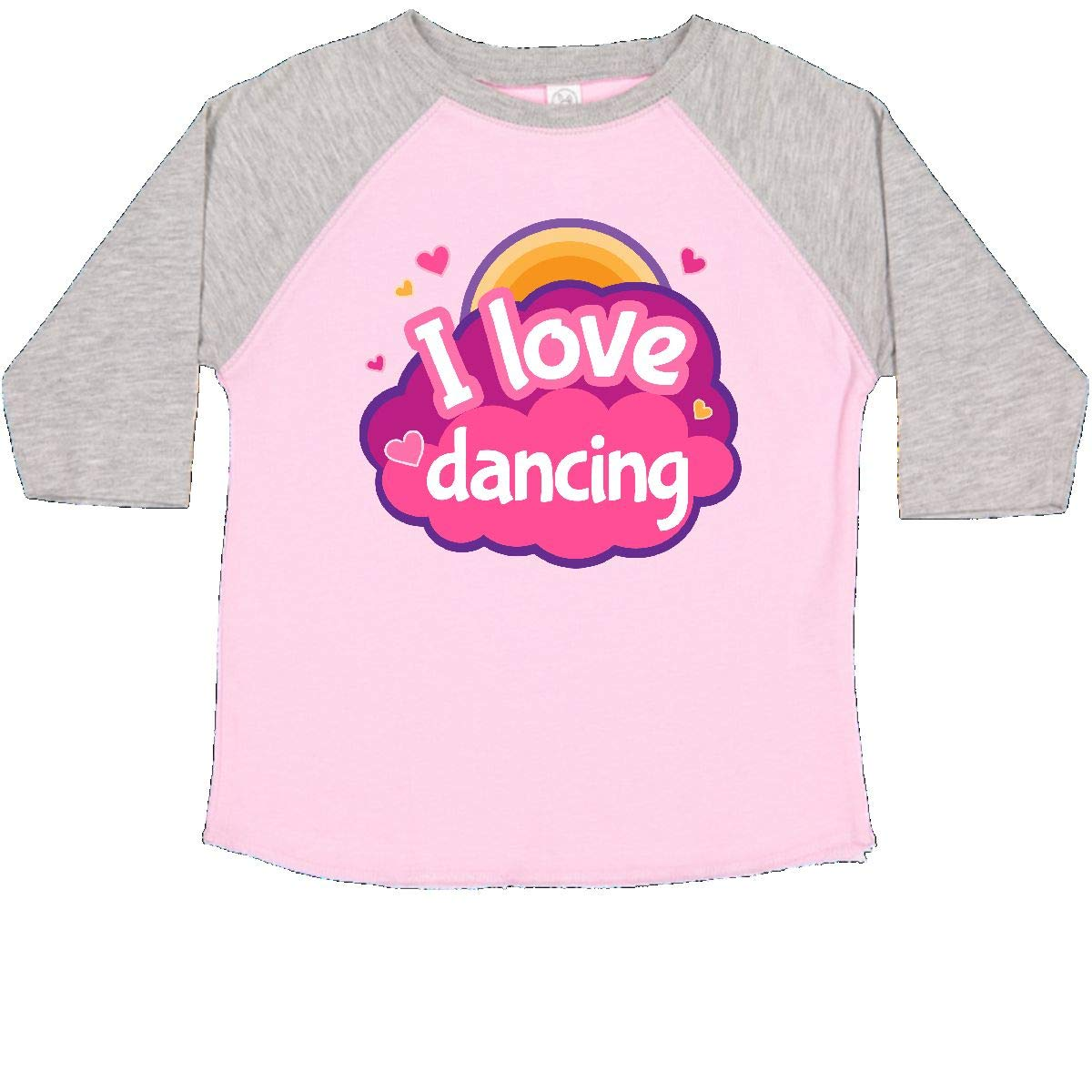 inktastic I Love Dancing Dance Gift Toddler T-Shirt