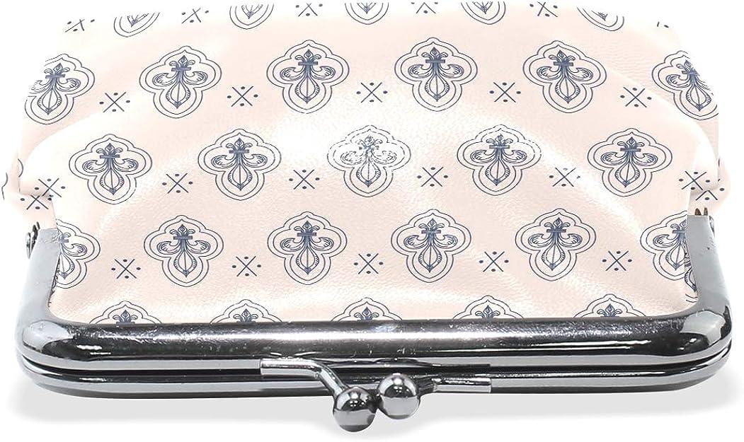 LALATOP Lily Pattern Womens Coin Pouch Purse wallet Card Holder Clutch Handbag