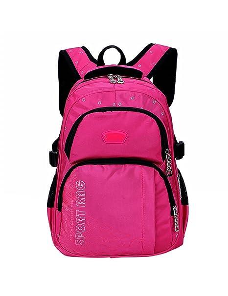 Zhuhaijq Niños Colegio Bolso Impermeable PC Bolso Mochila Childrens School Bag Backpack Cute Bookbag for Primary