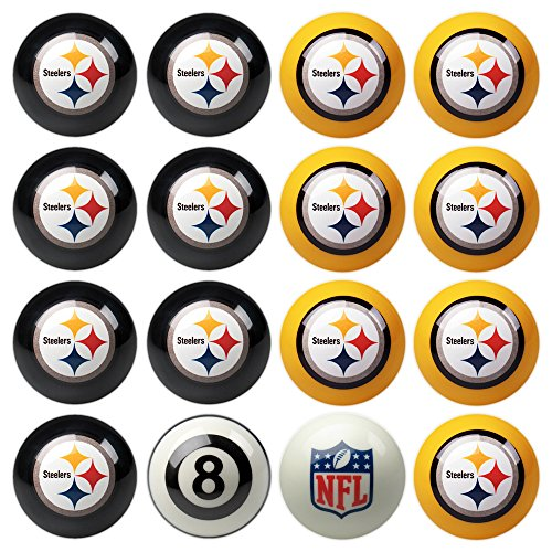 Pittsburgh Steelers Billiard Balls, Steelers Pool Balls