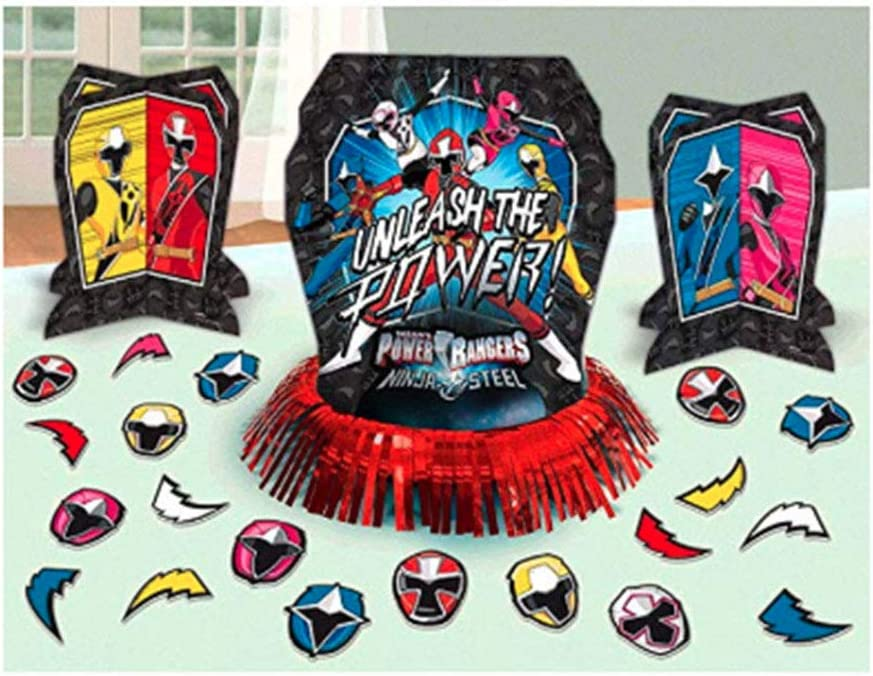 Power Rangers Ninja Steel™ Table Decorating Kit, Party Favor