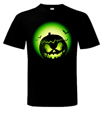 10306653 Halloween Pumpkin Trick Or Treat Men's T-Shirt: Amazon.co.uk: Clothing