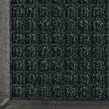 Andersen 200 WaterHog Classic Polypropylene Fiber Entrance Indoor/Outdoor Floor Mat, SBR Rubber Backing, 5' Length x 3' Width, 3/8 Thick, Charcoal by The Andersen Company