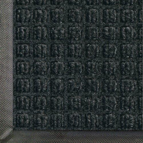 Andersen 200 WaterHog Classic Polypropylene Fiber Entrance Indoor/Outdoor Floor Mat, SBR Rubber Backing, 5' Length x 3' Width, 3/8 Thick, Charcoal by The Andersen Company