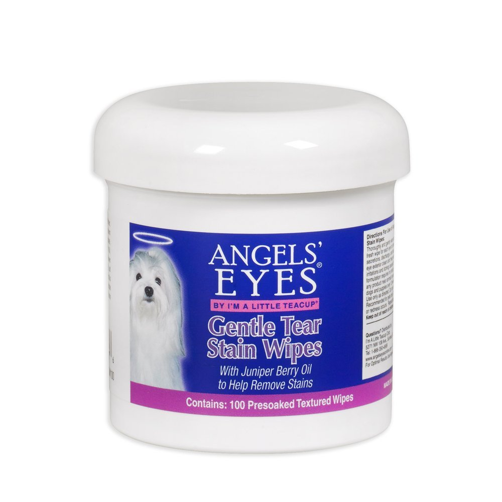 Angels' Eyes Gentle Tear Stain Wipes 100/Pkg- Angels' Eyes AEGTSW100