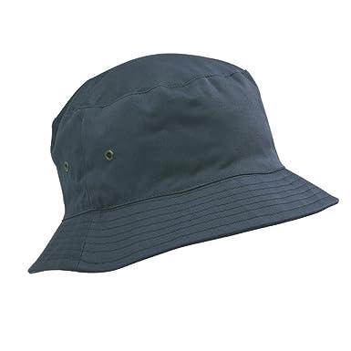 Childrens Cotton Bucket Hat Sun Cap Kids 5-11 Years Boys or Girls 38d76daa203