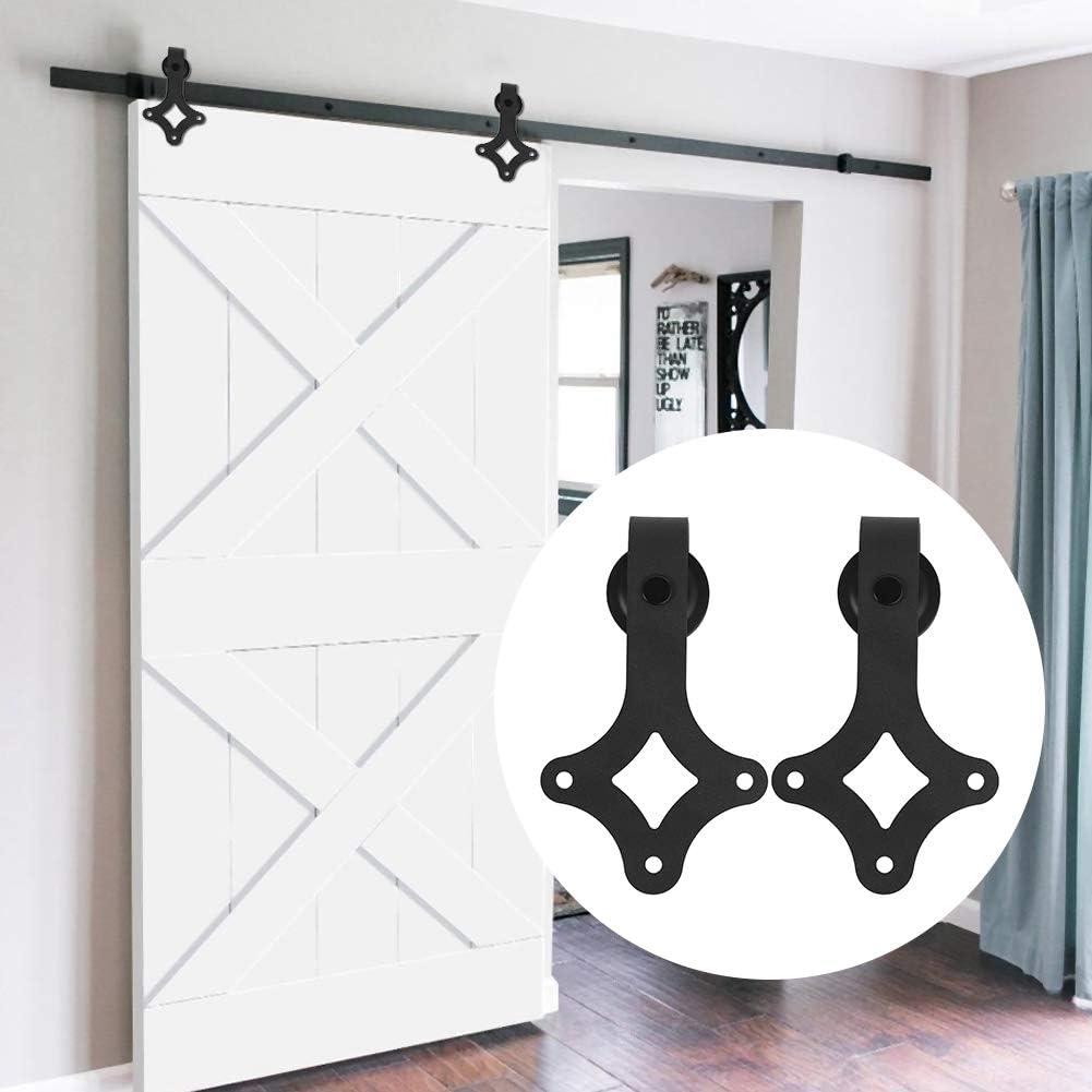 Kit de Accesorios de Puertas Carril de Acero carbono de puerta ...