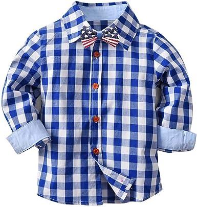 beautyjourney Camisa de Rejilla para bebés Camisetas de Manga ...