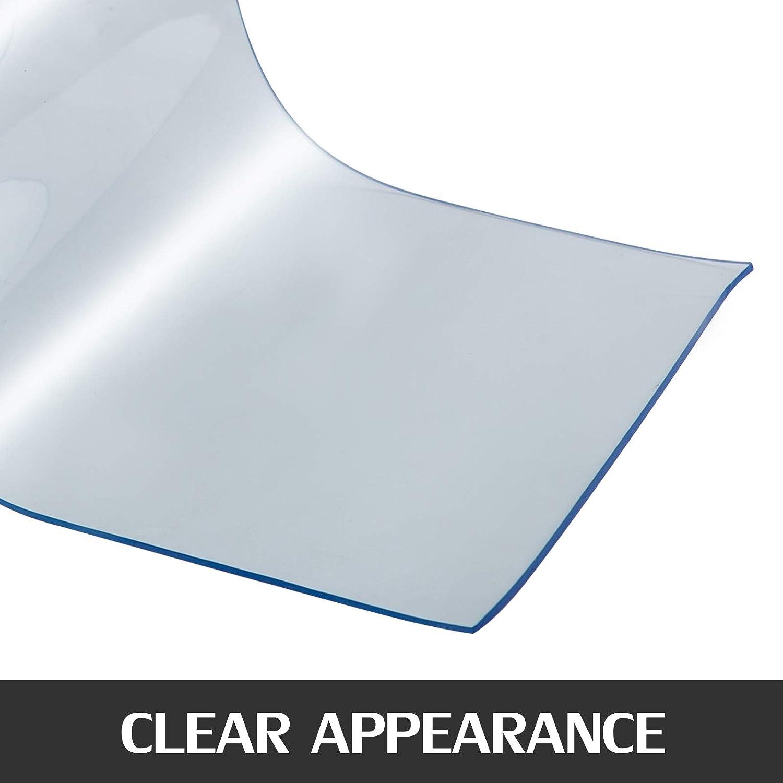 Frantools PVC Streifenvorhang 300mm x3mmx25m Kunststoffvorhang T/ürvorhang 58lbs Vorhangrolle Transparent Dekoration Gesch/äfte