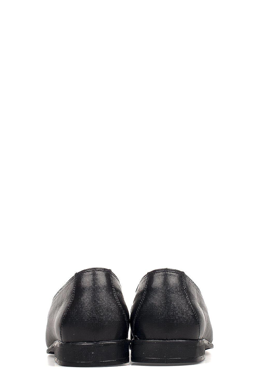 Trotters Hombre 60808Black Negro Cuero Mocasín: Amazon.es: Zapatos y complementos