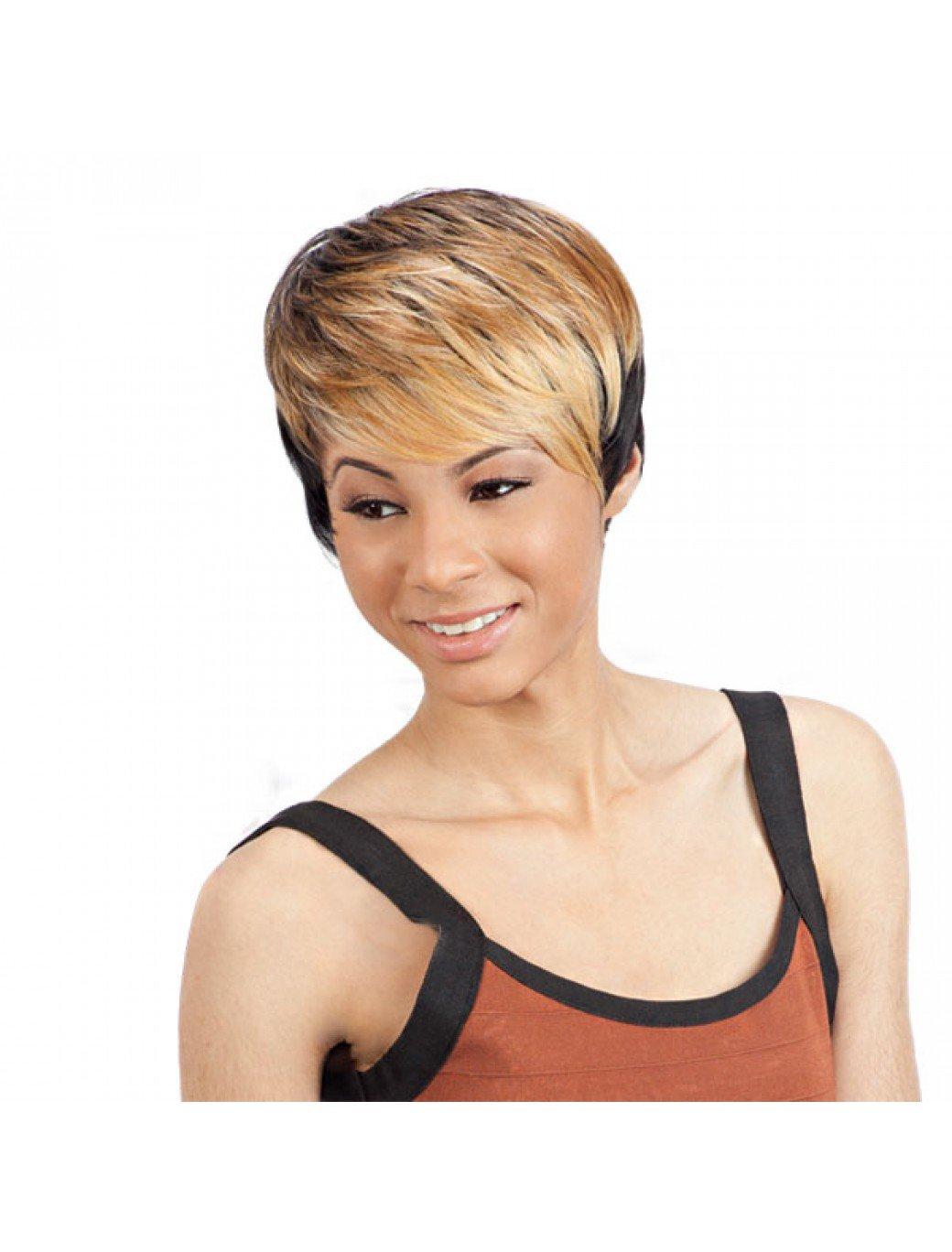 Amazon Com Freetress Equal Synthetic Wig Elsie 99j