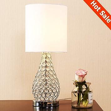 Popilion Alloy Crystal Base Elegant Appearance Crystal Table Lamp