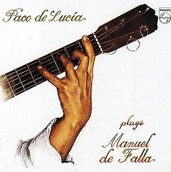 Paco de Lucia Interpreta A Manuelde Falla: Paco De Lucía: Amazon.es: Música