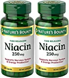 Nature's Bounty, Niacin, Time Released, 250 mg, 90 Capsules – 2pc Review