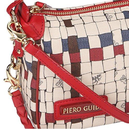 Shopper PIERO GUIDI Intreccio Art Donna - 314X51529 Rosso Rubino