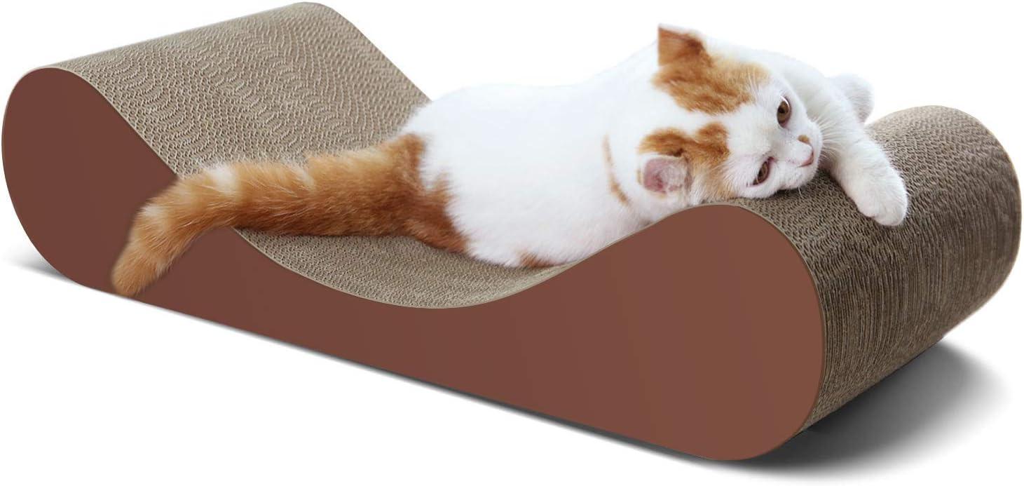 ScratchMe Cat Scratcher Cardboard Lounge Bed