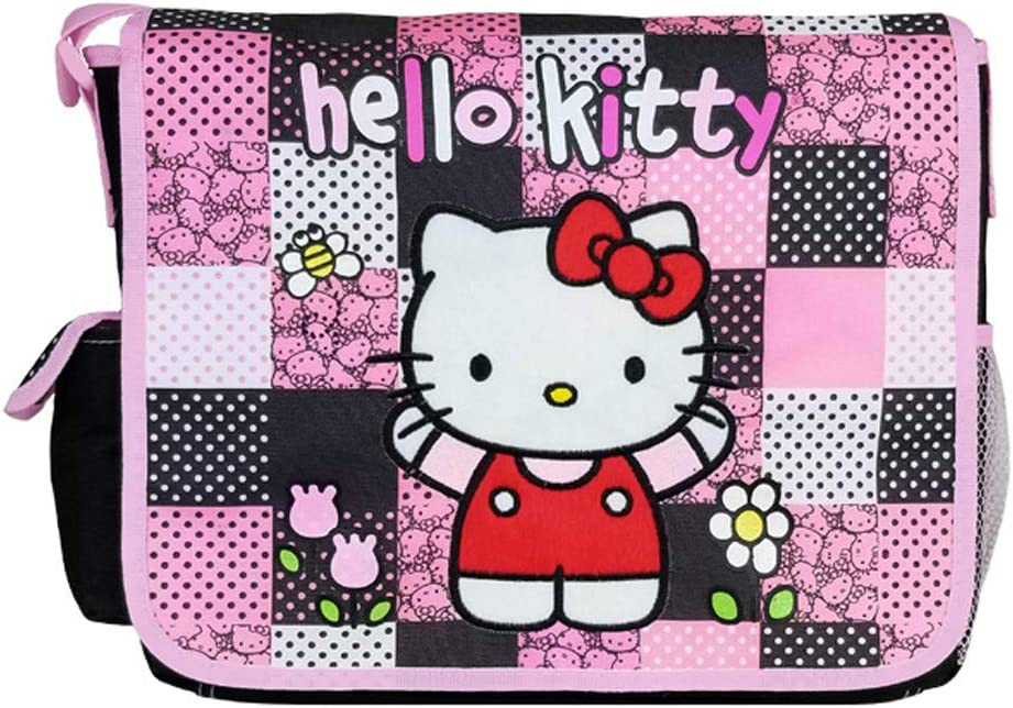 NEW COOL RETRO HELLO KITTY PREP CANVAS BELT