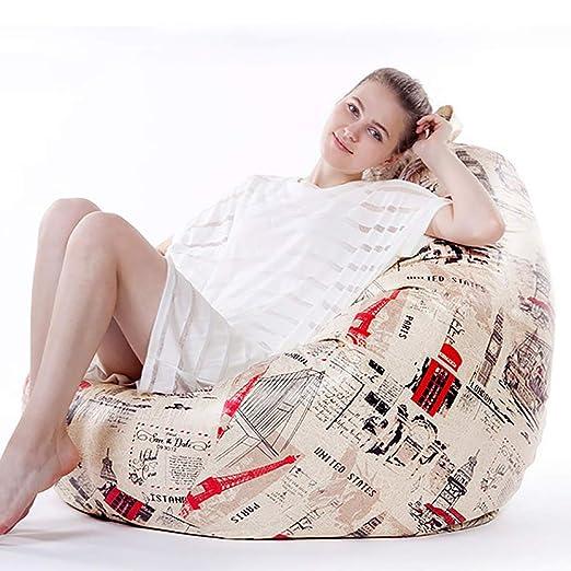 Los sillones puff, cuero microfibra sofá perezoso ...