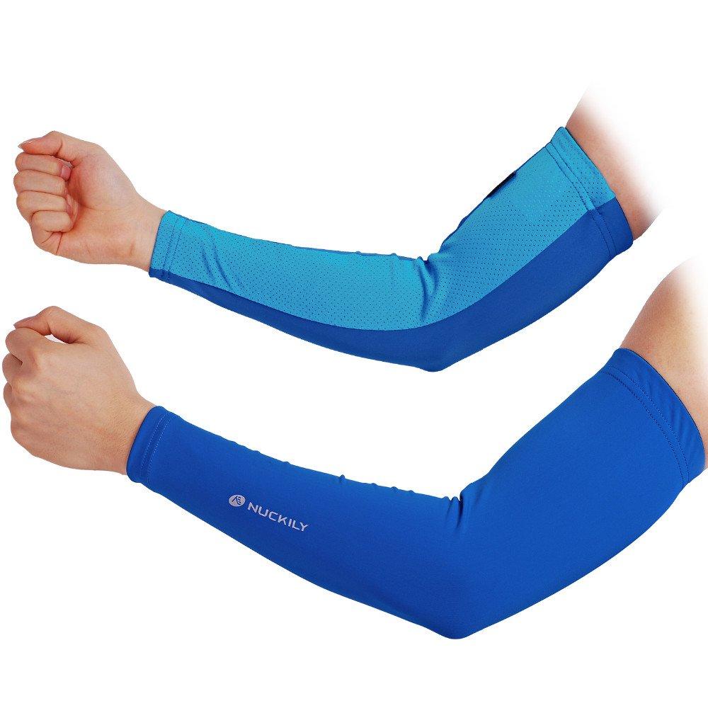 NUCKILY Cycling Arm Sleeve Summer Bicycle Arm Wear Sun Protection Sport Arm Sleeves LTD