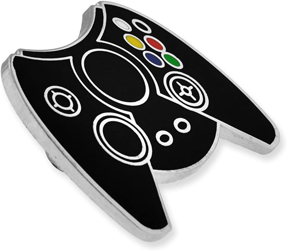 PinMart Retro Video Gaming Original Controller Enamel Lapel Pin Set