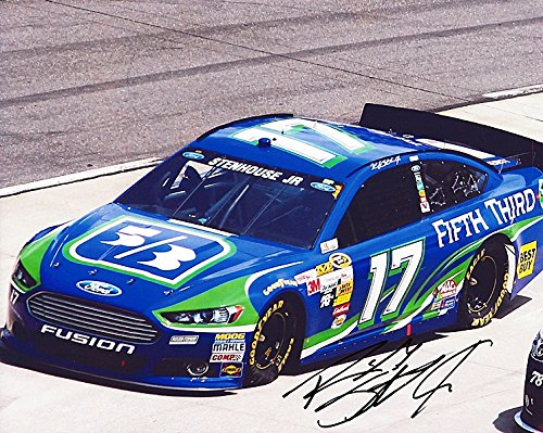 Autographed 2015 Ricky Stenhouse Jr   17 Fifth Third Bank Racing  Sprint Cup Series  Roush 8X10 Picture Signed Nascar Photo With Coa